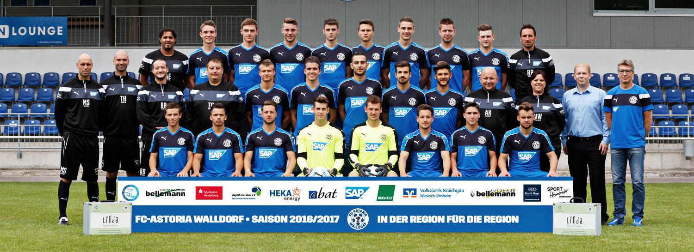 Astoria Walldorf - Oberliga BW - 2016-2017