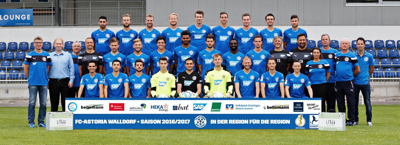 Astoria Walldorf  - Regionalliga Südwest 2016-2017