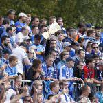 Fussball. DFB-Pokal, 2016-2017, 1. Runde. FC Astoria Walldorf - VfL Bochum. Bochumer Fans. 21.08.2016 - Jan A. Pfeifer - 01726290959