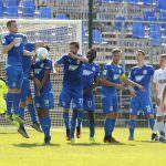 Fussball. Regionalliga Suedwest. Saison 2016-2017. 08. Spieltag. FC Astoria Walldorf - SC Teutonia Watzenborn. Walldorfer Mauer. 10.09.2016 - Jan A. Pfeifer - 01726290959
