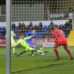 FC Astoria Walldorf vs.Kickers Offenbach 2016 19 Marcus Meyer FCA vs.TW 31 Oliver Copik OFC ©vaf-foto/Alfred Gerold www.as-sportfoto.de Alfred Gerold Feldstrasse 114 68259 Mannheim  fon.0178/4550793 vaf-foto@web.de